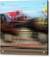 Racetrack Dreams  Acrylic Print