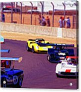 Racing At Laguna Seca Acrylic Print