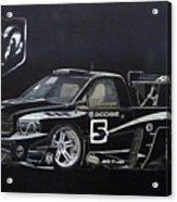 Racing Dodge Pickup Acrylic Print