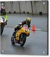 Racing In The Rain Acrylic Print