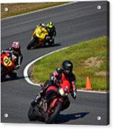 Racing Through Turn 11 Acrylic Print