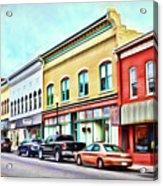 Radford Virginia - Along Main Street Acrylic Print