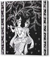 Radha Krishna - The Devine Acrylic Print