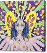 Radiant Butterflies Acrylic Print