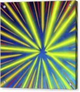 Radiant Flow 3 Acrylic Print