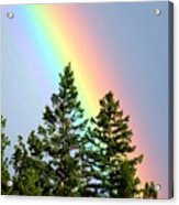 Radiant Rainbow Acrylic Print