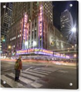 Radio City Music Hall Acrylic Print