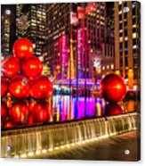 Radio City Music Hall - New York City Usa Acrylic Print
