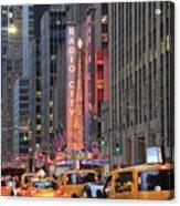 Radio City Music Hall New York Acrylic Print