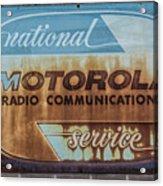 Radio Communications Acrylic Print