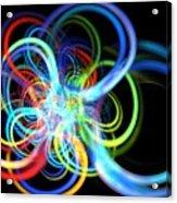 Radius Rainbow Acrylic Print