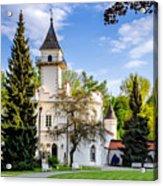 Radziejowice Castle Acrylic Print