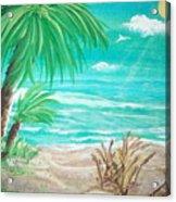 Raelee's Beach Acrylic Print