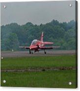 Raf Red Arrow Jet Lands Acrylic Print