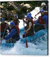 Rafting Rapture Acrylic Print