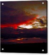 Rage - Sunset Acrylic Print