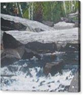 Ragged Falls Acrylic Print