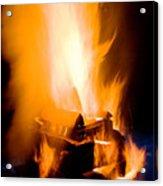 Raging Bonfire Acrylic Print