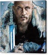 Ragnar Lothbrok Acrylic Print