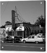 Raifords Disco Memphis A Bw Acrylic Print