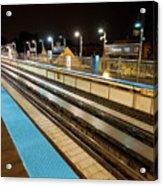 Rail Perspective Acrylic Print