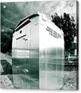 Railroad Box 86 Acrylic Print