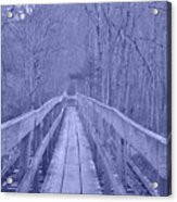 Railroad Bridge Acrylic Print