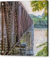 Railroad Bridge14 Acrylic Print