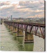 Railroad Bridge3 Acrylic Print