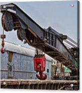Railroad Crane Acrylic Print