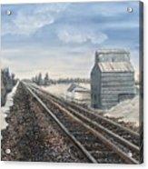 Railroad Going North  Acrylic Print