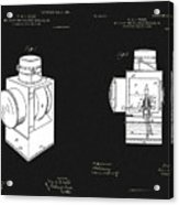 Railroad Lantern Plans Acrylic Print