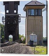 Railroad Lift Bridge2 A Acrylic Print