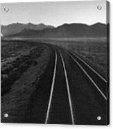 Railroad Lines Acrylic Print