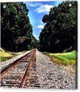 East Texas Tracks Acrylic Print