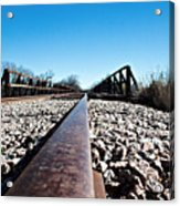 Railroad Trestle  Acrylic Print