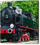 Railroad Walk Acrylic Print