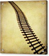 Railway Acrylic Print by Bernard Jaubert