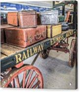 Railway Express Agency Acrylic Print