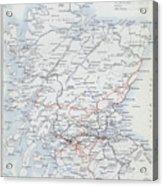 Railways Of Scotland Acrylic Print
