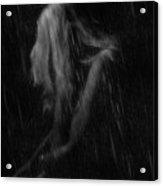 Rain And Cold Acrylic Print