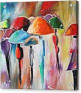 Rain City Acrylic Print