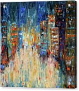 Rain Dance Blues Acrylic Print