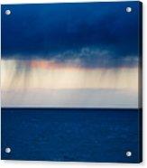 Rain On The Horizon At Strumble Head Acrylic Print
