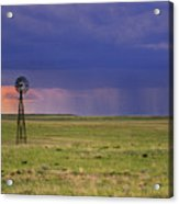 Rain On The Plains Acrylic Print
