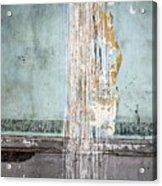 Rain Ruined Wall Acrylic Print