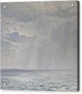 Rain Under The Volga Acrylic Print