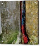 Rain Water Pipe Acrylic Print