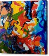 Seahorse Emerging Acrylic Print
