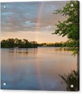 Rainbow After The Storm Acrylic Print